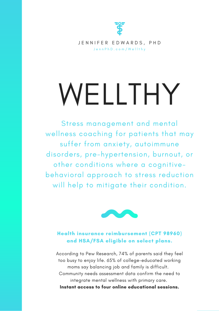 Stress management and mental wellness.
